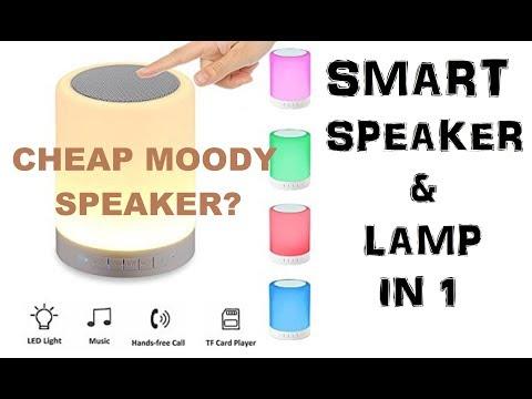 LAZADA UNBOX! A Smart LED Speaker To Set Your Mood?