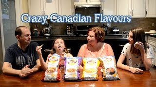 Lay's Potato Chip Contest - Tasting Crazy Canadian Flavours