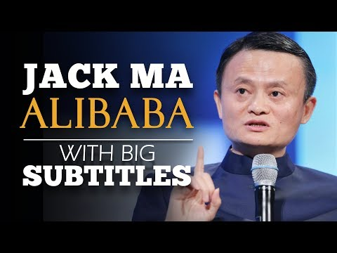 ENGLISH SPEECH | JACK MA ALIBABA: We Never Give Up (English Subtitles)