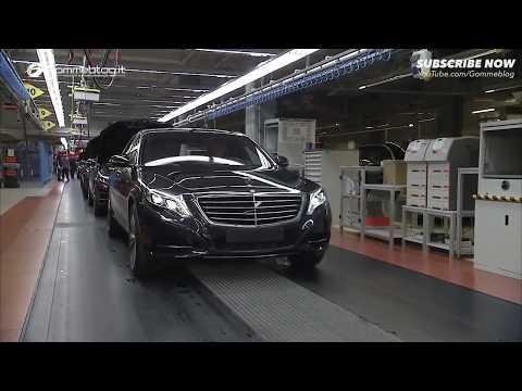 Bên Trong Nhà Máy Sản Xuất Xe Mercedes S Class