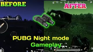 The NEW NIGHT MODE + FPP Driving| PUBG Mobile 0 9
