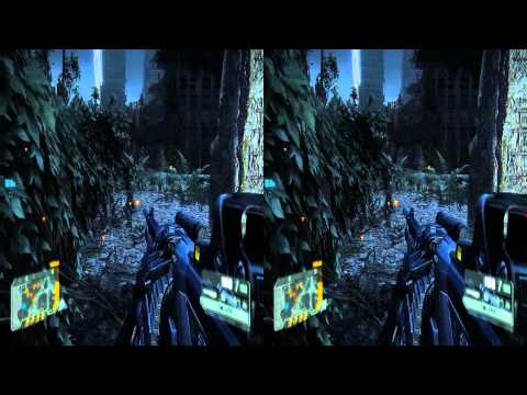 Crysis 3 Stereoscopic 3D gameplay