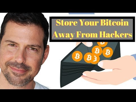 Store Your Bitcoin Away from Hackers