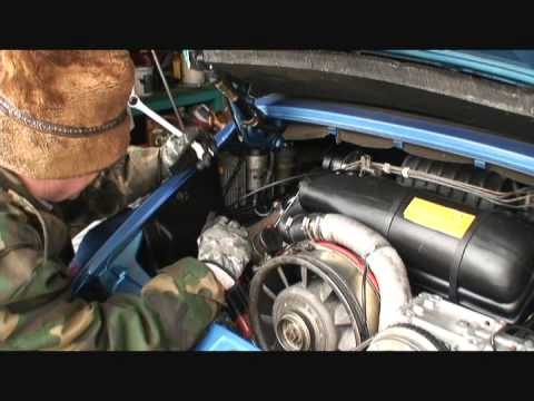 How To Replace A Fuel Filter On A 1982 Porsche 911 Youtube