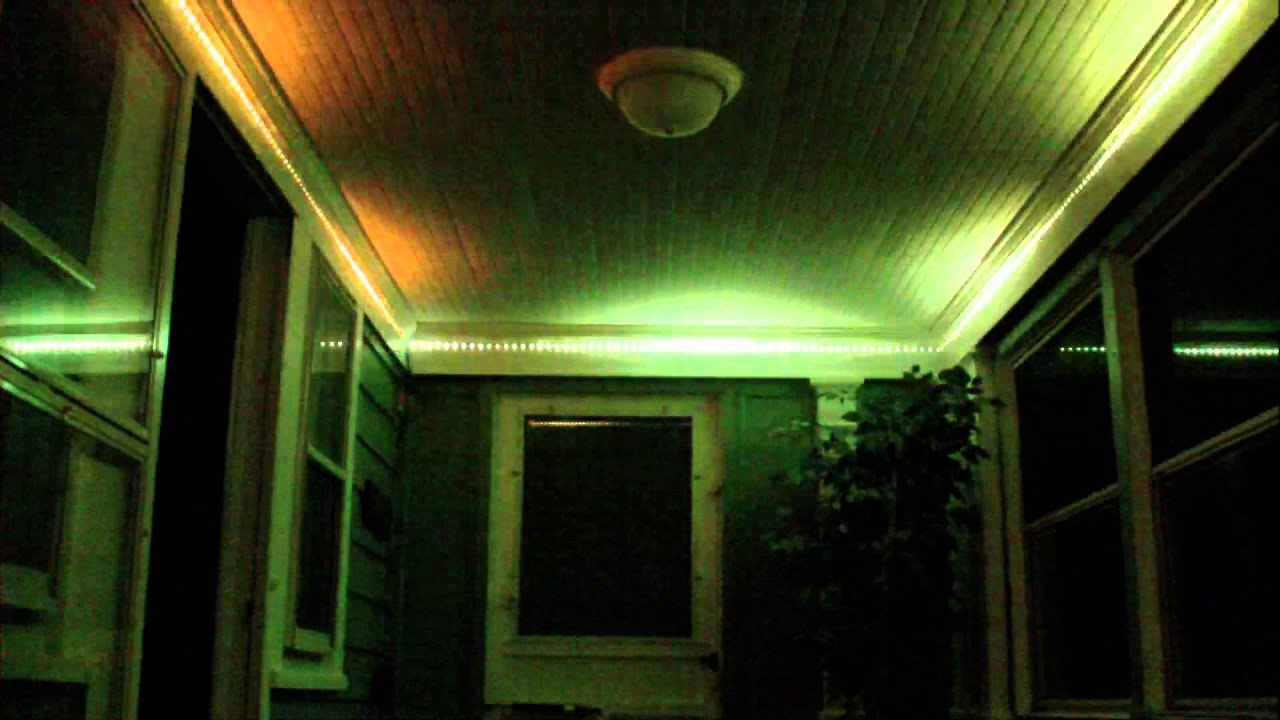 Front Porch Lights LED - YouTube