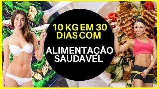 Reeducação Alimentar - 10 KG Em 30 Dias Com Alimentação Saudável (E-BOOK GRÁTIS NA DESCRIÇÃO)