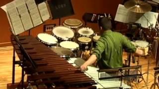 "5. ""A La Par"" mvt. 3 by Tania Leon: Percussion and Piano"