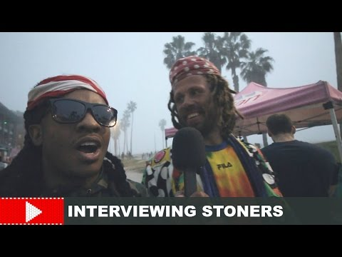 INTERVIEWING THE BIGGEST POTHEADS