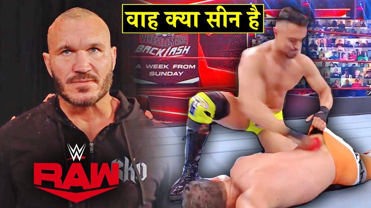 'Chaddi Me Phool🌹RAW is Cool' Randy Orton Got Hit with....? Lashley Vs Braun - WWE Raw Highlights