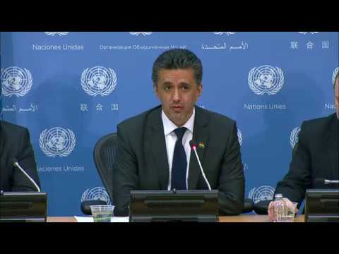 Sacha Sergio Llorentty Solíz (Bolivia) on the programme of work of the Security Council in June 2017