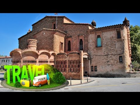 Spain Santa Coloma de Cervello Colonia Guell ☕ HD 1080p