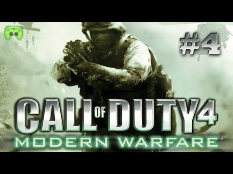 CALL OF DUTY 4: MODERN WARFARE # 4 - Campen mit Facecam «» Let's Livestream COD4 | HD