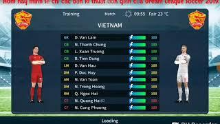 Dream League Soccer VN Game•Hướng dẫn kĩ thuật đơn giản trong Dream League Soccer 2019.