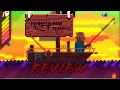 Ridiculous Fishing IOS IPhone Gameplay Review