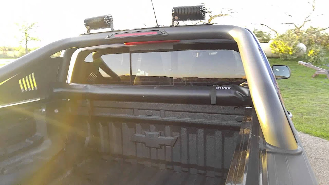 TonnoPro LoRoll on Chevrolet Colorado TrailBoss Duramax ...
