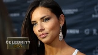 adriana lima is single   hollywoodtv