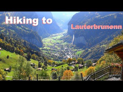 SWITZERLAND - Suiza - HIKING WENGEN TO LAUTERBRUNNEN caminando - Grindelwald - Engelberg from YouTube · Duration:  46 minutes 23 seconds