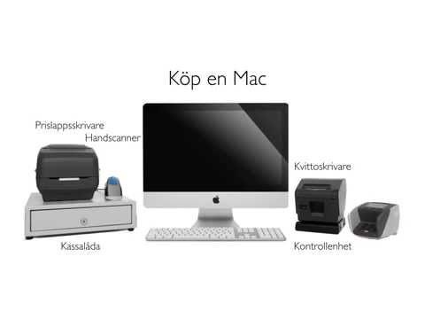 P1 Datakassa Mac - en kassa för din butik!