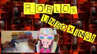 Roblox Unboxing Toys - Roblox Mystery Box Series 1 Series 2 Series 3 Funny Unboxing Video