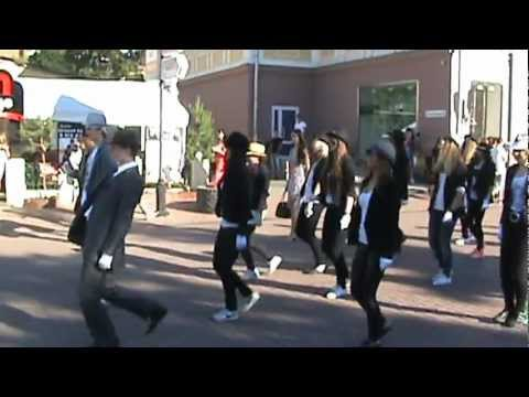 Dance Cool. Флешмоб памяти Майкла Джексона. 25.06.2012