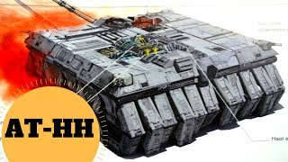 The Superlaser Pulling Crab Walker - AT-HH All Terrain Heavy Hauler - Star Wars Last Jedi Lore
