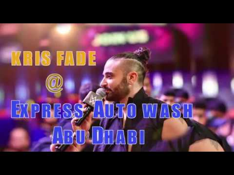 kris fade at Express Auto Wash!! the best car wash service in abu dhabi