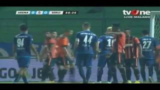 AREMA FC VS PERSERU SERUI BABAK KEDUA