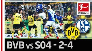 Borussia Dortmund vs. FC Schalke 04 I 2-4 I Götze and Caligiuri's Wonder Goals in Spectacular Derby
