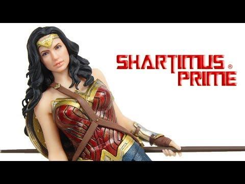Justice League Wonder Woman Kotobukiya ArtFX DC Comics DCEU Movie Statue