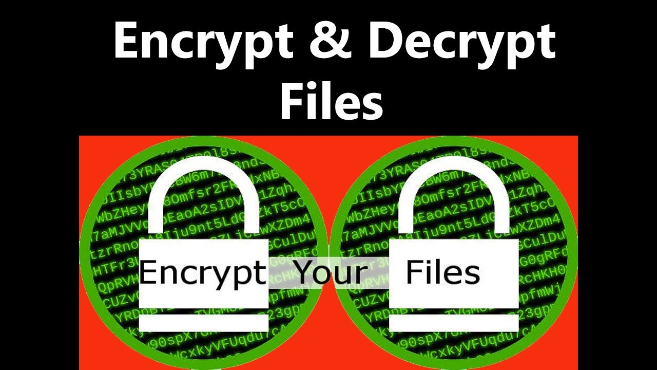 Encrypt and Decrypt Files Using CMD | Command Prompt Encryption Decryption  | Secure your data