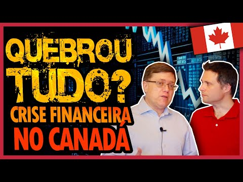 CRISE FINANCEIRA NO CANADÁ (E BRASIL) POR CAUSA DO COVID-19 - INVESTIMENTOS NO CANADÁ [LIVE]
