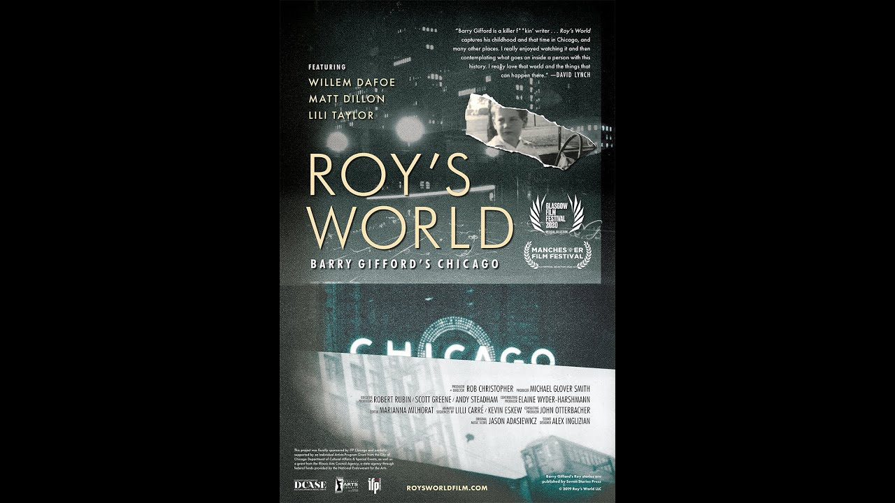 ROY'S WORLD Q & A with Rob Christopher and Barry Gifford at SF DocFest