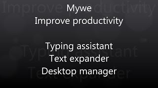Mywe Fluent navigator (File manager) demonstration video