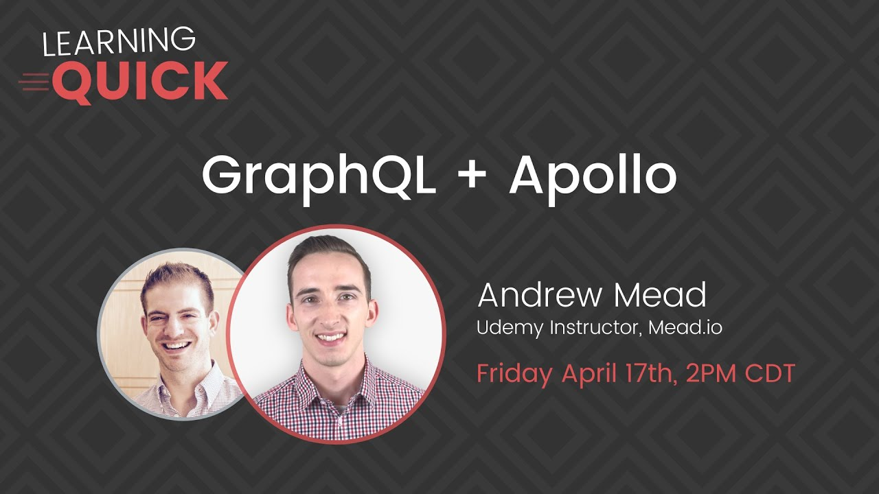 GraphQL and Apollo with Andrew Mead