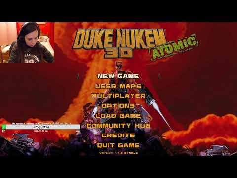 Jugamos a Duke Nukem!!