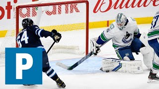 Thatcher Demko on Canucks 3-1 win over Winnipeg Jets | The Province