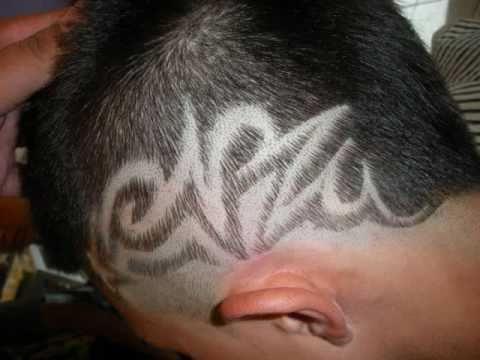 Tutu Da Barber Hair Designs - YouTube