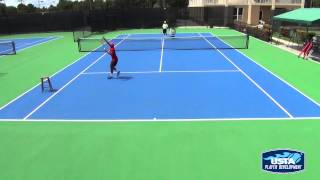 Tennis Training Progression - Overhead Drill Progressions (4 of 13)