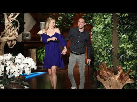Ellen Meets a Formerly Paralyzed Man and His New Wife
