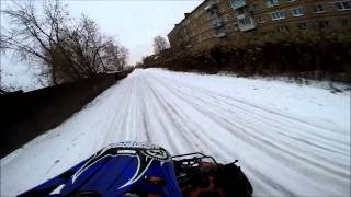 [RB]Winter Motorcycles/Wheelie on ice/Moto Drift ice/Road Bullies