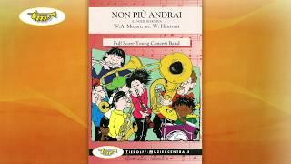 Non Più Andrai - Young Band - Mozart - Hautvast - Tierolff