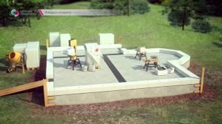 Как построить дом из газобетона(Анимационный фильм-инструкция по строительству домов из газобетона, создан Творческим объединением