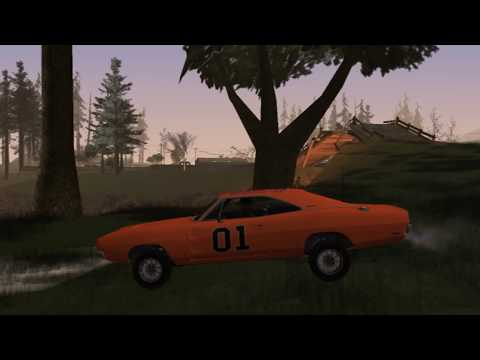Dodge Charger General Lee GTA San Andreas