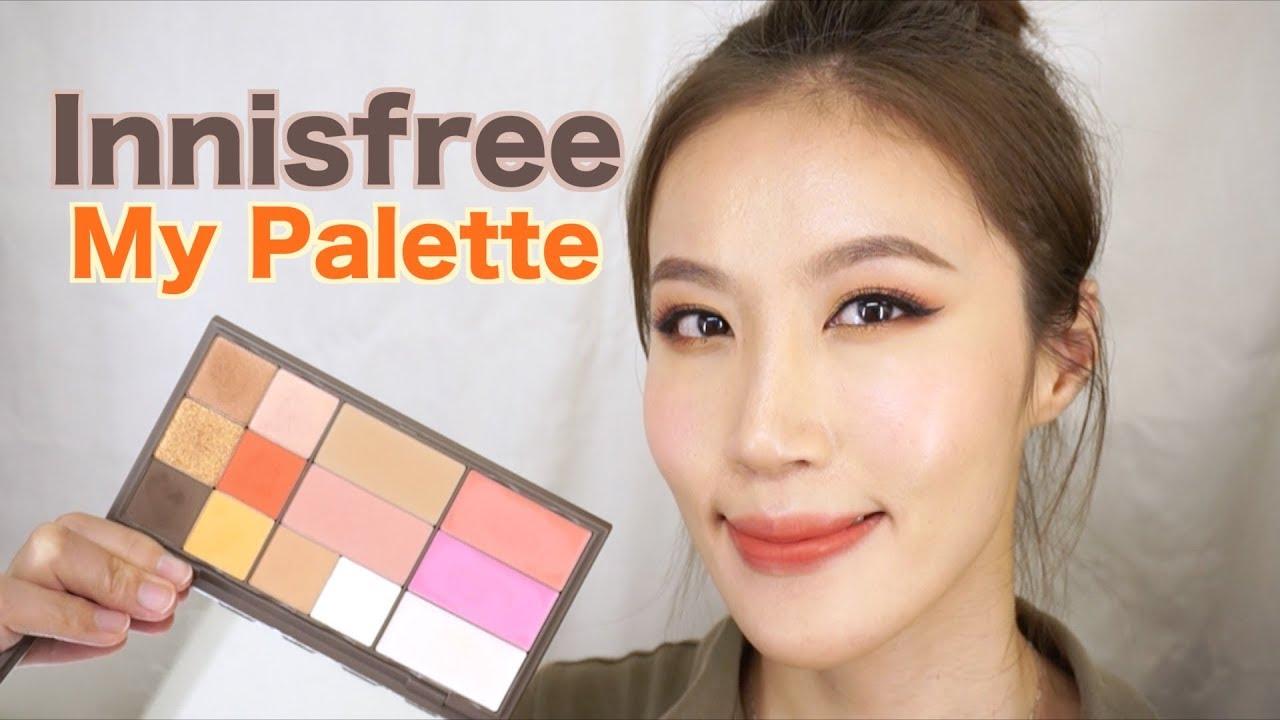Celeste Wu 大沛   Innisfree my palette自組盤分享 - YouTube