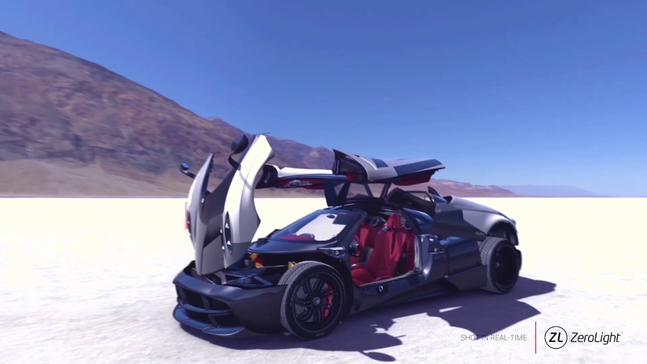 Visualizing a Pagani Supercar with ZeroLight and Windows 10