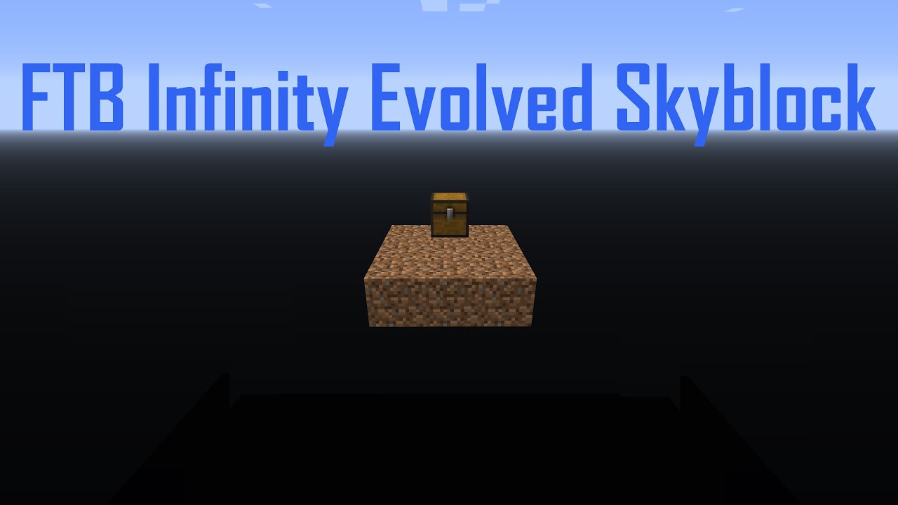 Ftb infinity evolved guide not working