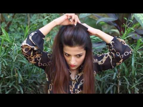 1 Min Perfect Puff With A Quick High Ponytail Hairstyle For College, Work, Party   Alia Bhatt