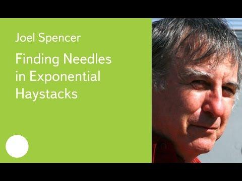 009. Finding Needles in Exponential Haystacks - Joel Spencer