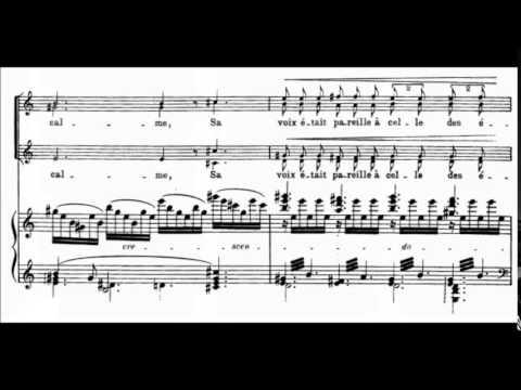 Debussy  La Demoiselle élue 1888