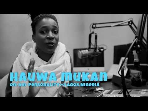 A Think Positive moment from Broadcaster Hauwa Mukan